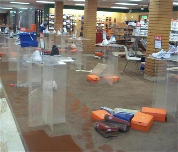 Water Damage – Kingsport Department Store Before