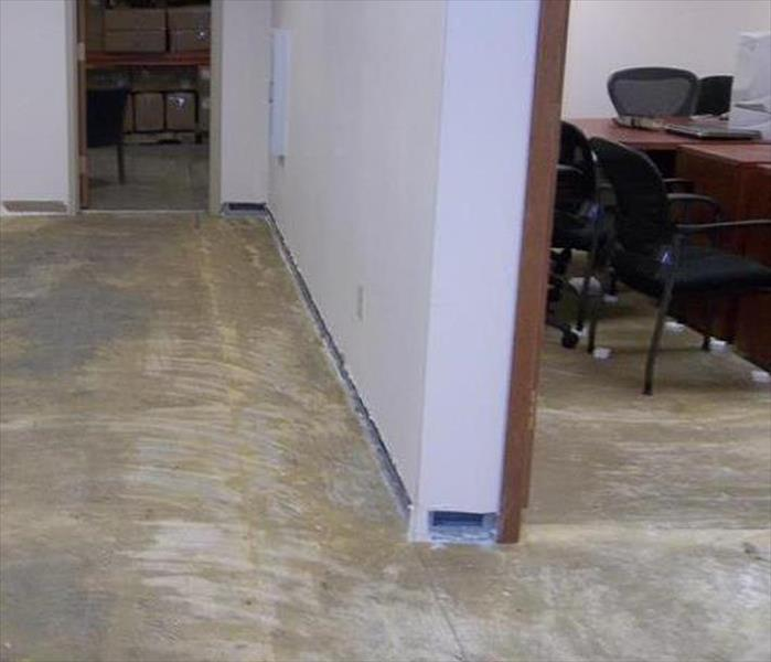 Flooding to a Kingsport Office After
