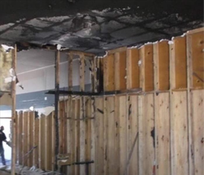 Fire Damage to a Kingsport Facility Before