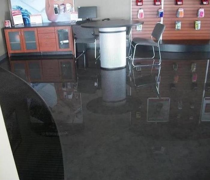 Commercial Water Damage – Bristol Store