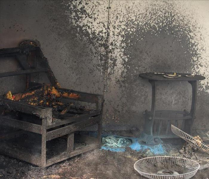 Fire Damage After A Fire Damage Takes Place In Bristol, Structural Components Require Cleaning
