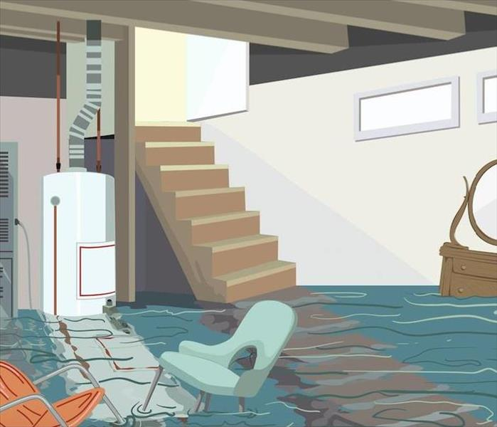 Storm Damage Flood Damage Restoration in Bristol