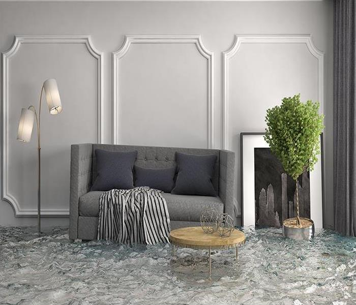 Water Damage Packing Out Your Home During Water Removal At Your Colonial Heights Home