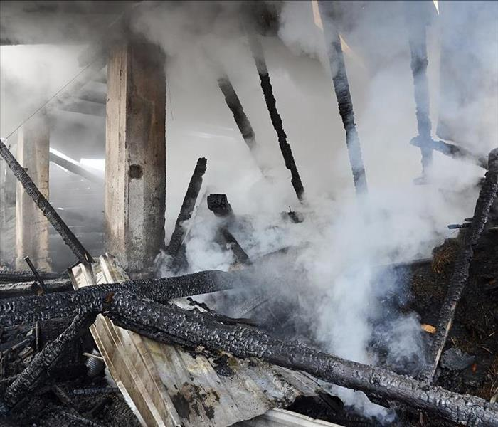 Fire Damage From Start To Finish - Professional Fire Damage Restoration Services Available In Bristol