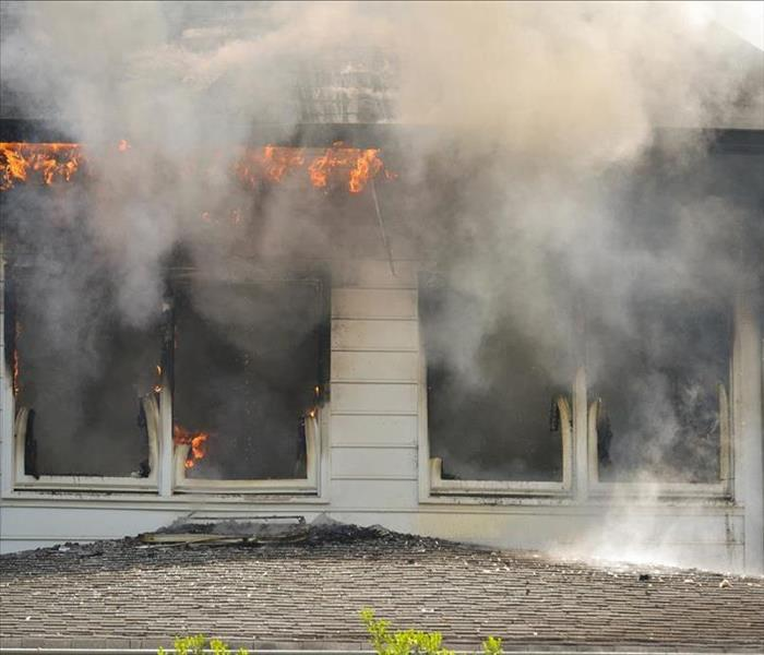 Fire Damage SERVPRO Can Prevent Secondary Fire Damage In Your Kingsport Home